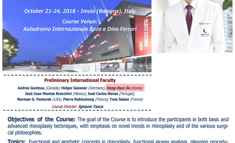 7th International course on Functional and Aesthetic surgery of the nose live surgery