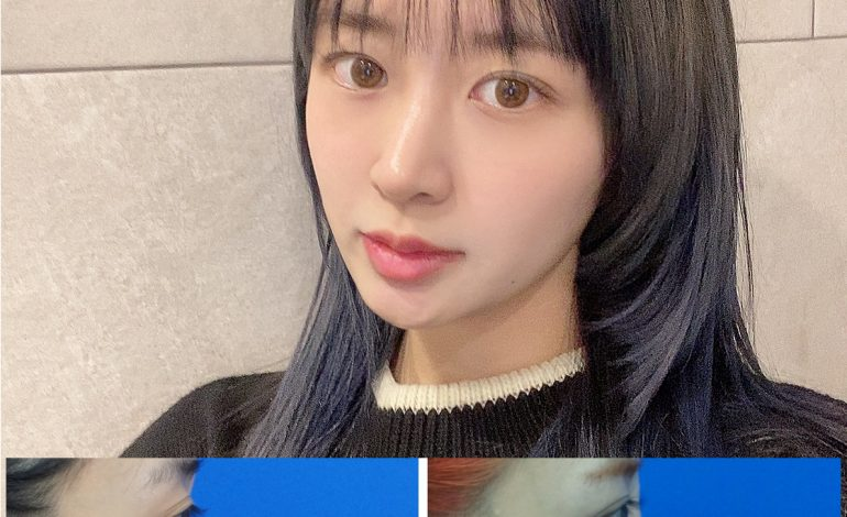 The image changed to Kpop star EXID Hani after rhinoplasty